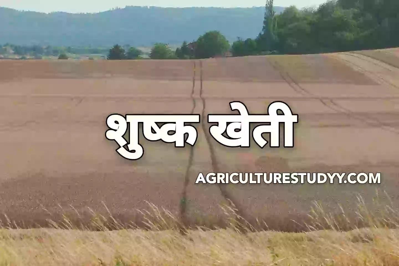 शुष्क खेती किसे कहते है इसकी विशेषताएं एवं सिद्धान्त लिखिए ( Write the characteristics and principles of what is dry farming )