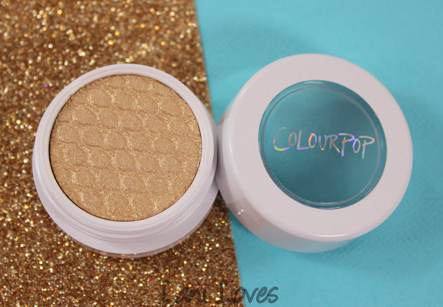 ColourPop Super Shock Shadow - Crimper Swatches & Review