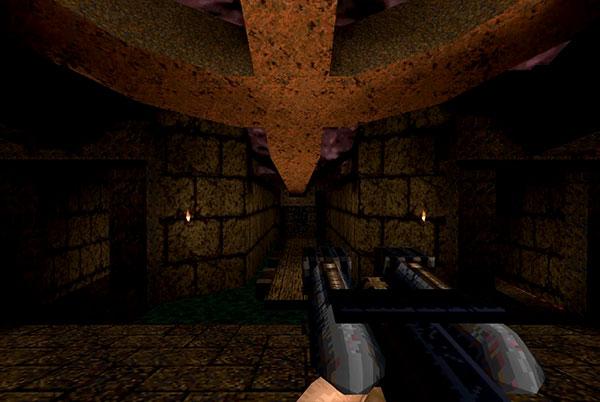 Quake Armas Pistola de clavos