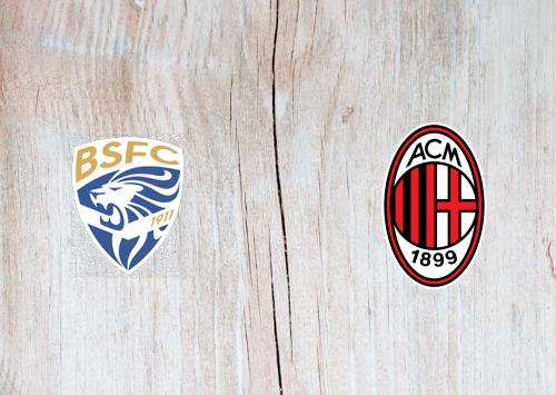 Brescia vs Milan Full Match & Highlights 24 January 2020