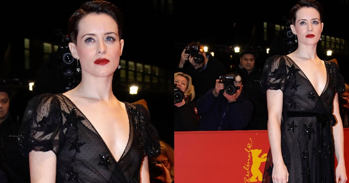 Claire Foy In Valentino At The Unsane 68th Berlinale