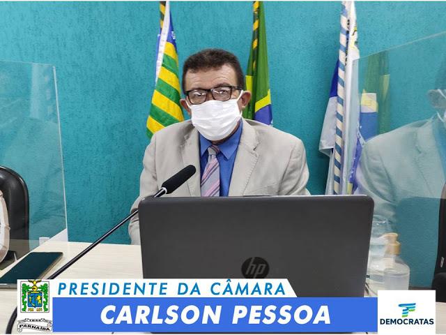 Carlson Pessoa volta a pedir prioridade de vacinação para motoristas do transporte coletivo de Parnaíba