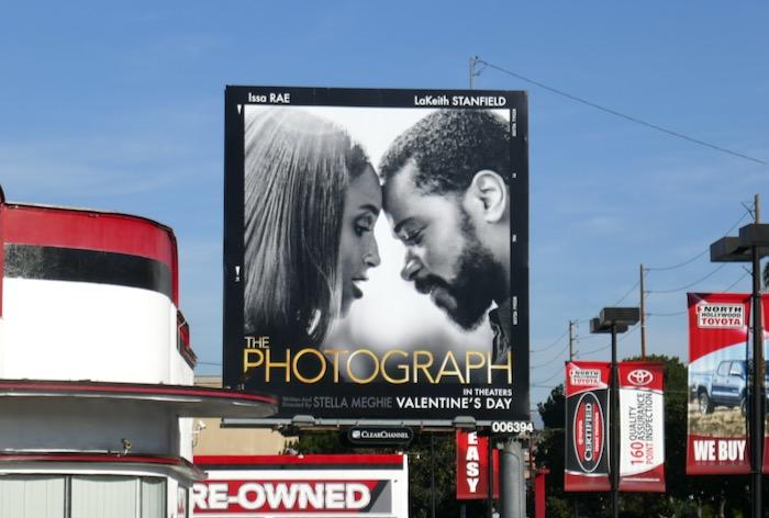 Photograph movie billboard