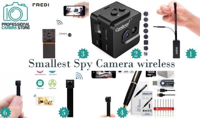 Smallest Spy Camera Wireless