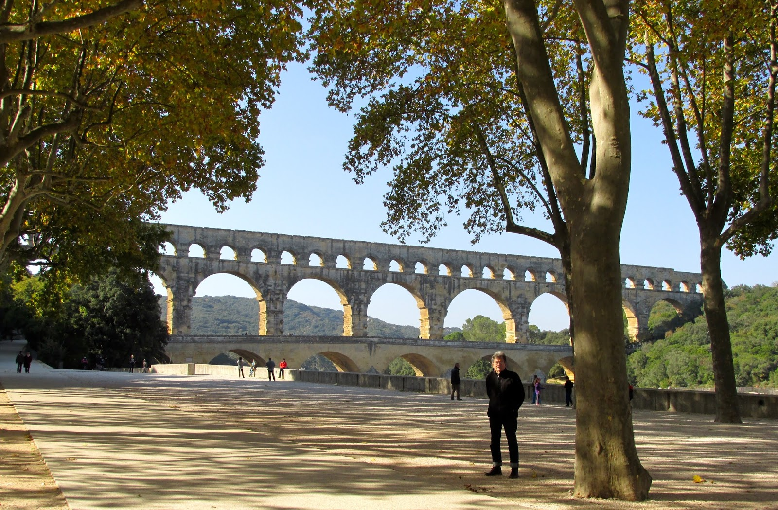 carol and tim 39 s excellent adventure the pont du gard or nobody does aqueducts like the romans. Black Bedroom Furniture Sets. Home Design Ideas