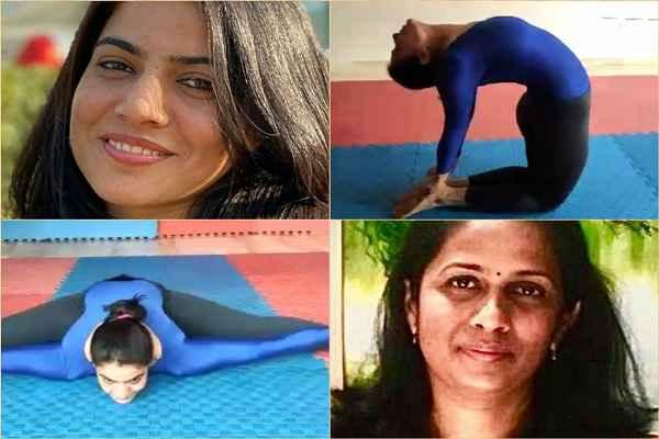 faridabad-suman-bala-and-veena-dodathotha-win-medal-in-yoga-sports