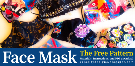 Face mask pattern nancy tranter
