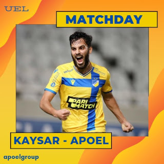 MATCHDAY: Kaysar - ΑΠΟΕΛ (UEL-2nd-QR) «Για το διπλό και την πρόκριση»