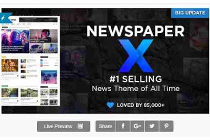Newspaper v10 - Wordpress News Theme
