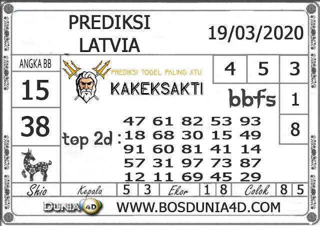 Prediksi Togel LATVIA DUNIA4D 19 MARET 2020