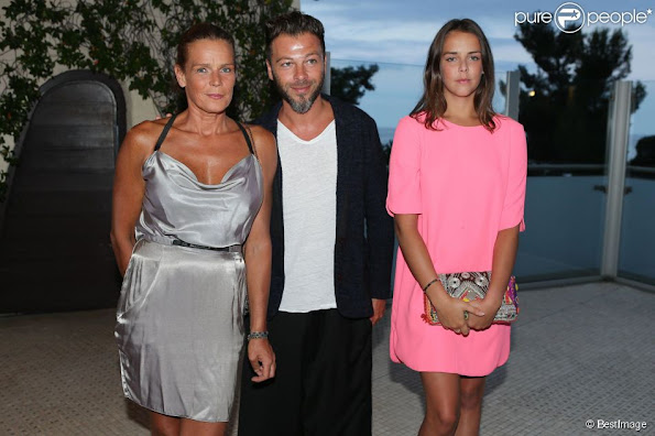 Princess Stephanie and Pauline attended the Fight Aids Monaco
