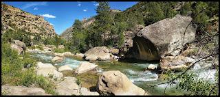 Cottonwood River under Joes Valley River, Utah