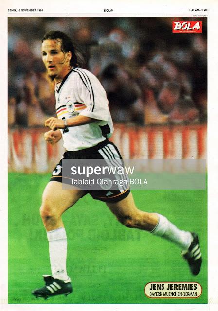 JENS JEREMIES GERMANY DEUTSCHLAND 1998