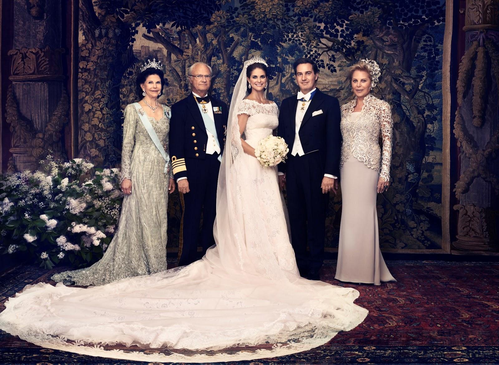 Royals Van Europa Huwelijk Prinses Madeleine En Chris O