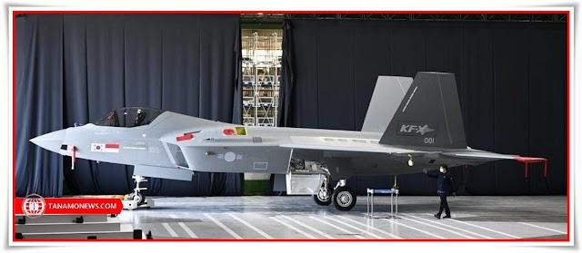 Bendera Merah Putih di Prototipe Jet Tempur Kerja Sama Korea - Indonesia KF-21 Boramae