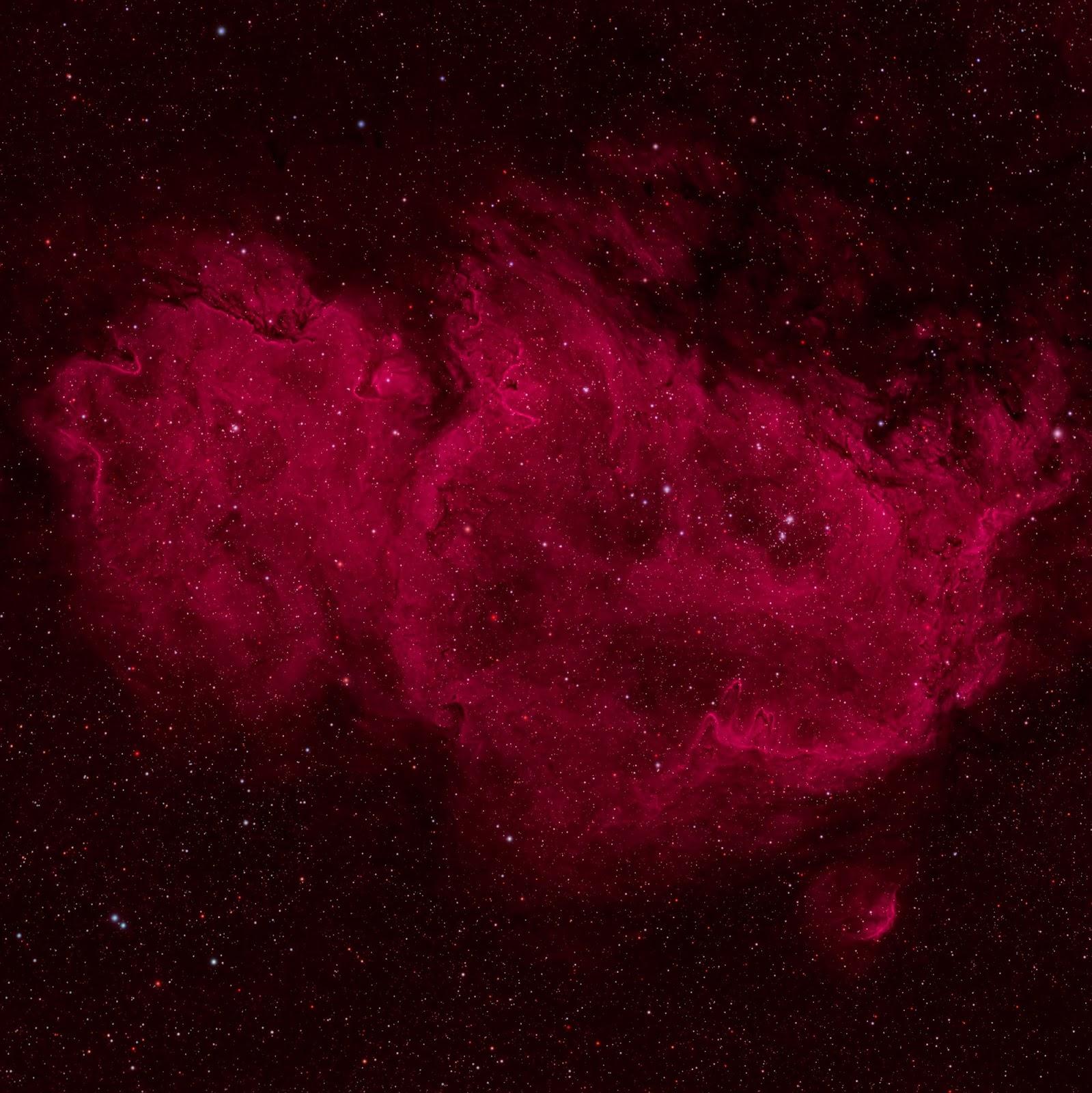 IC 1848: The Soul Nebula | Earth Blog