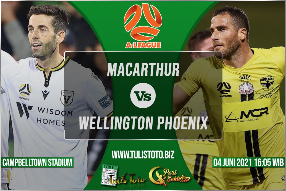 Prediksi Macarthur vs Wellington Phoenix 04 Juni 2021