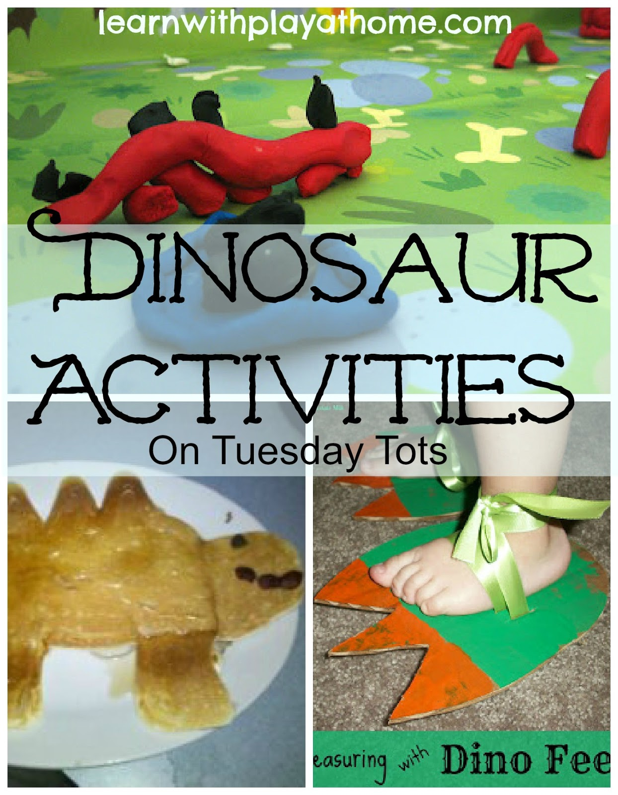 Learn With Play At Home Dinosaur Activities On Tuesday Tots