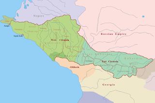 circasiana, chechenia, osetia, cosacos, rusos