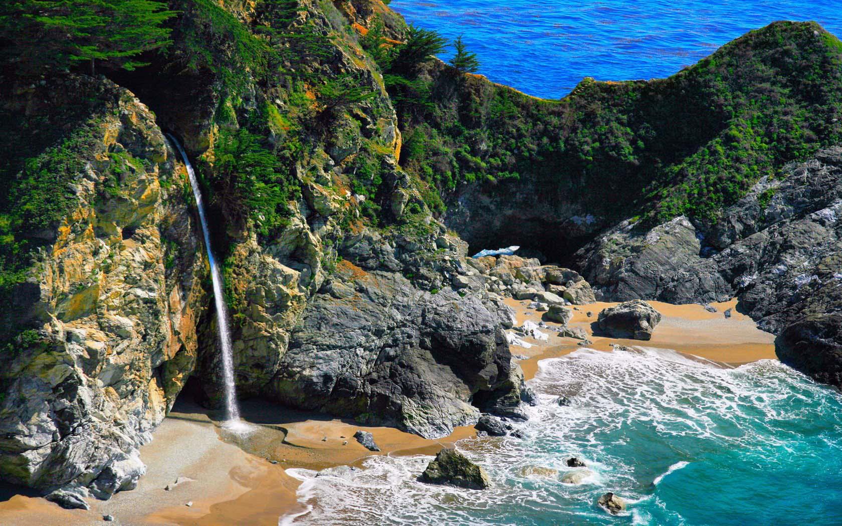 Смотровая тропа Оверлук к водопаду Макуэй