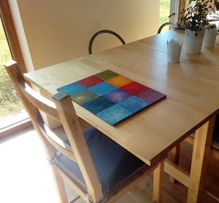 ręcznie malowana na zamówienie podkąldka pod alerz wzory kolory