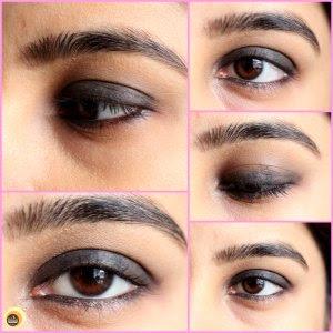 texture Nykaa Rock The Line Kajal Jet Black 001, swatches of Nykaa black kajal