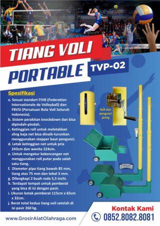 tiang voli portable tvp-02