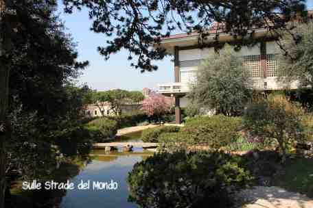 il punto più bello del giardino giapponese roma