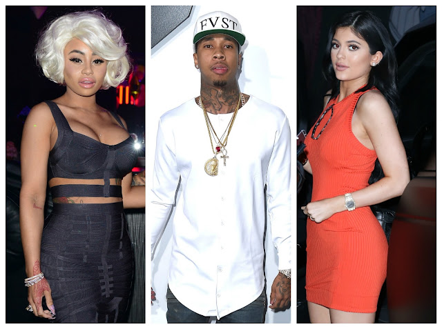 Tyga disses Blac Chyna and supports Kylie's new cooking show