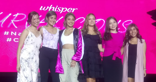 Nadine Lustre launches the Curvalicious Movement at Big Cominh Out Party