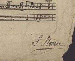 Stephen Storace signature