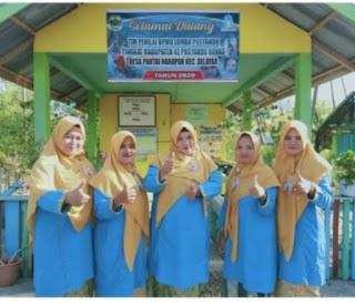 Posyandu Nenas Desa Pantai harapan Menjuarai tingkat Satu di Kabupaten Lingga
