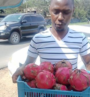 dragon fruits for sale in Kenya