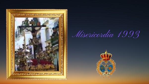 Vídeo de la Salida procesional del Cristo de la Misericordia de Cádiz en el año 1993