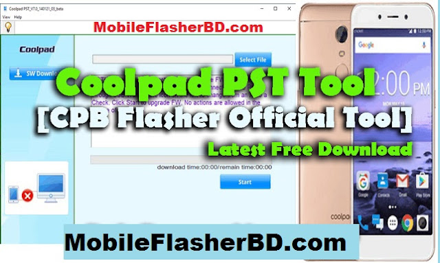 Download Download PST Tool Coolpad .CPB Flasher Official Latest Update Tool Free For All Without Password