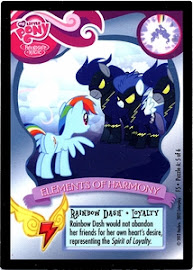 My Little Pony Rainbow Dash - Loyalty Series 1 Trading Card