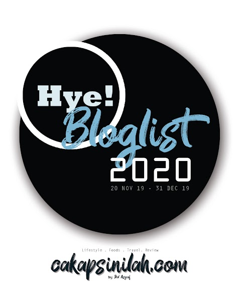 Blog Segmen: Hye! Bloglist 2020