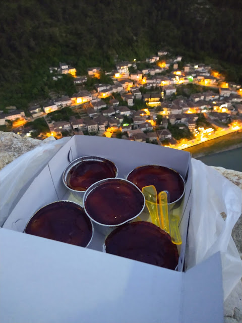 Trileqe with a view in Berat, Albania