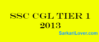 SSC CGL Previous Year Papers