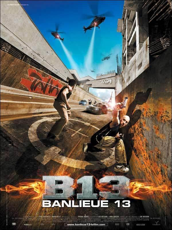 Download District B13 (2004) Full Movie in Hindi Dual Audio BluRay 720p [1GB]