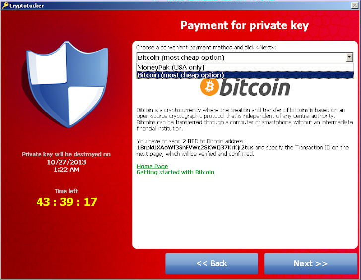 US police department pays $750 Ransom to retrieve their files from CryptoLocker Malware