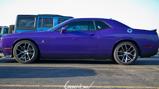 Dodge Challenger Scat Pack Plum Crazy