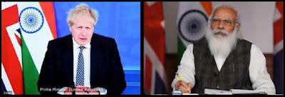 India-UK-Virtual-Summit, Boris Johnson,PM modi, United Kingdom,India Britain india uk roadmap 2030 india uk virtual summit pm modi boris johnson