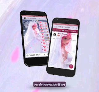 White Girls Theme For YOWhatsApp & Fouad WhatsApp By Nanda