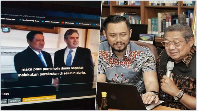 Kala SBY Masuk Film Hollywood: Awalnya Tak Tahu, Lalu Senyum-senyum Saja