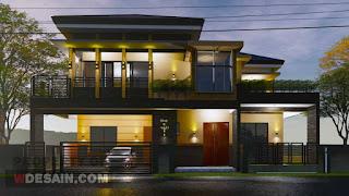 rumah minimalis tampak depan 17x15