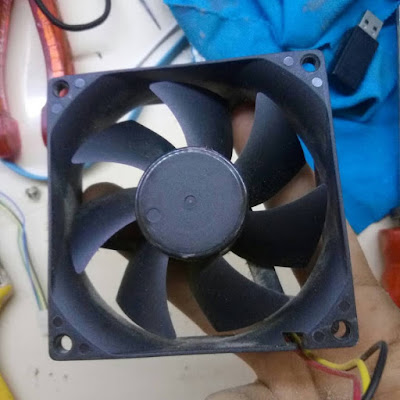 temizlenmiş fan