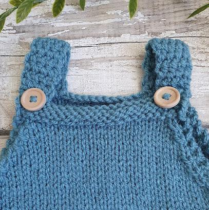 classic simple plain baby romper pattern