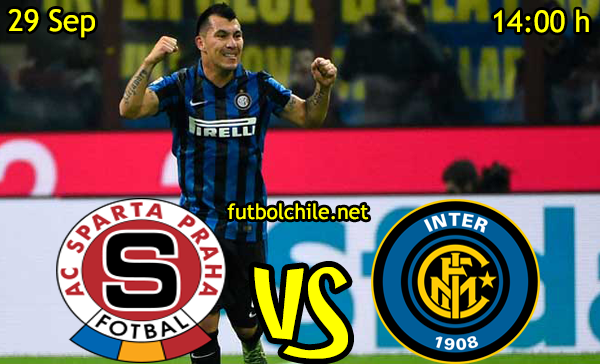 Ver stream hd youtube facebook movil android ios iphone table ipad windows mac linux resultado en vivo, online:  Sparta Praga vs Inter de Milán