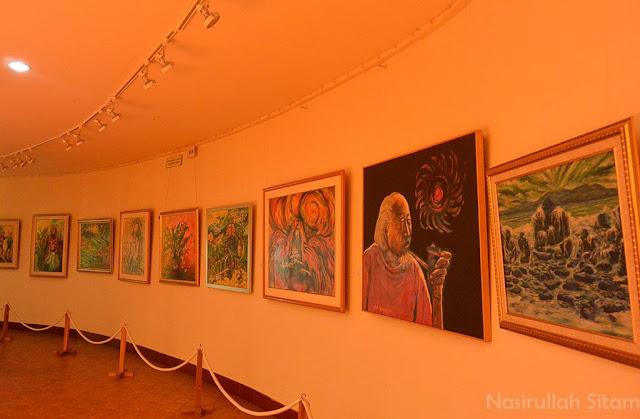 Gallery ketiga Museum Affandi